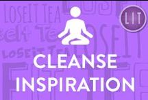 """Cleanse Inspiration & Fitness Motivation / Need some cleanse inspiration or motivation to workout? Here we share daily posts to support you on your health path! """"If you start now you'll start seeing results one day earlier than if you wait until tomorrow."""""""
