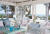 Outdoor Spaces / If I could change one thing about my house, I would add an awesome outdoor living space!