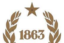 Escudos Cuerpo de Bomberos de Santiago / Los escudos que representan a las 22 Compañías del CBS