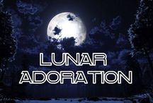 ☆Lunar Adoration☆ / Including our own moon & alien moons.  / by GeekyGumdrop