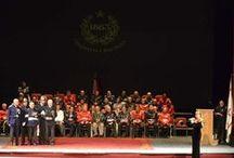 148 años al servicio de la Ciudad de Santiago / El Cuerpo de Bomberos de Santiago celebró su aniversario 148 en el Teatro Municipal.