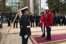 """CBS y las ceremonias por las """"Glorias Navales"""" / El Cuerpo de Bomberos de Santiago (CBS) participó esta semana de en diversos actos  en conmemoración de las Glorias Navales de la Armada de Chile."""