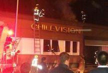 CBS controló emergencia en Chilevisión / Cuatro compañías del Cuerpo de Bomberos de Santiago (CBS), concurrieron a controlar una emergencia en las dependencias del canal Chilevisión, ubicado en Inés Matte Urrejola y Francisco Puelma, comuna de Providencia.