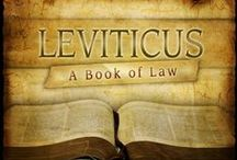 Leviticus / Moses writes this book while the Israelites are in the wilderness, before they enter the promise land.  In it he reports to them the numerous religious, civil and moral laws that God revealed to him on Mount Sinai.