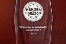 """1.098 voluntarios participaron en """"Héroes de Corazón / El Cuerpo de Bomberos de Santiago (CBS), realizó en el salón de Honor del Cuartel General la ceremonia de cierre de la campaña de prevención de salud """"Héroes de Corazón"""".  El acto fue presido por el Superintendente de la Institución, Juan Enrique Julio, quien estuvo acompañado por los Comandantes, Oficiales Generales, Directores Honorarios y los Capitanes de las 22 compañías."""