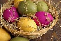 Easter dekor and recipes