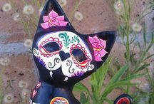 Day of the Dead party / My Halloween party for 2015 will be Day of the Dead themed.  / by Pegatha