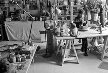 Artists & Their Spaces / Sophie favre