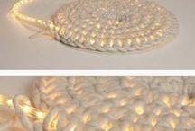 Rugs and mats / Crochet rugs, mats, carpets, afgans, blankets // Вязаные крючком коврики, покрывала, одеяла, накидки, шторы и другие плоские вещи большого размера