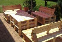 Ideas for Outdoor / Backyard, gardens, outdoor furniture