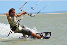 Kitesurfing and Snowkiting / Kiting - kiteboarding, kitesusfing, snowkiting, kite spots, equipment