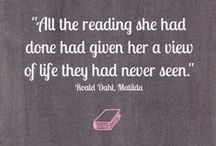 Bookish Quotes / The best quotes from the world of literature.
