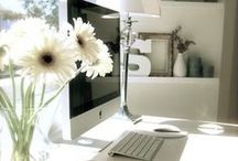 Home Office Décor / Create The Perfect Home Office   Decorating Ideas   Small Space   Desk Ideas   Affordable   Inspiring Photos   Easily Create The Workspace Of Your Dreams On A Budget
