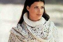 Crochet Shawls, Scarfs and Ponchos / Crochetted shawls, scarfs, tippets, ponchos, stoles Вязаные шали, шарфы, палантины, пончо, столы