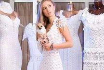 Crochet Dresses / Crochetted dresses, tunics