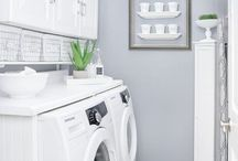 LAUNDRY room love / Ideas for creating functional laundry rooms in small spaces