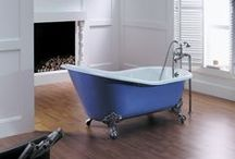 Cast Iron Baths / Cast iron baths are hardwearing, handsome and you can paint the exterior to match your decor