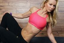 Online Workouts / Here are some examples and links to my online workouts - get fit with me!