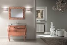 Bathroom Glamour / The Impero collection from Aston Matthews, unashamedly glamorous basin vanity units