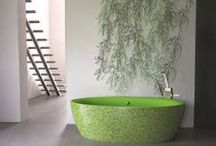 Unusual Baths / Make a bold statement in a modern bathroom with one of these extraordinary baths