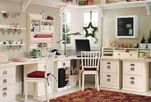 The Craft Room / Ideas for craft room organisation.