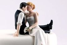 Wedding Cake Toppers / Lovely ideas to top off your Wedding Cake.