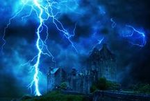 Paroxysm / A sudden volatile attack from Mother Nature. Stunning storms and lightening shows.