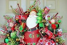 Christmas Wreaths, Swags & Garlands  / Wreaths, swags, garlands and teardrops.