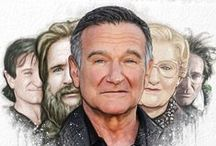 Remembering Robin Williams / The outpouring of grief worldwide for Robin has been phenomenal. Tributes through art have been exceptional, hence this tribute page to the late, great Robin Williams