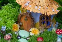 Mystical Fairy Realms / Capture the imagination of children by creating a magical fairy garden in your backyard.
