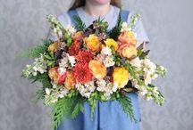 Whitecamelia bouquet