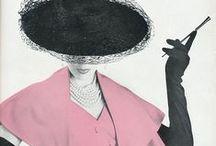 1950's Fashion / Women's Fashion 1950 to 1959