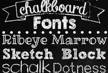 Graphic style and fonts / Graphic design stuff. favorite fonts