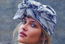 Foulards & écharpes / Jolis foulards & écharpes Idées et façon de porter ses foulards et ses écharpes