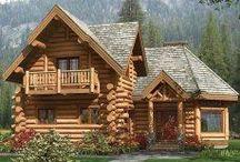 Beautiful Log Retreats / The natural beauty of wood