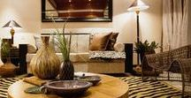 Culture Fusion: Africa / Fusion of traditional African art and home decor.