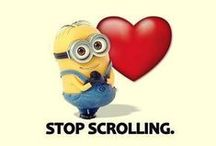 Minions / Evolving from single-celled yellow organisms at the dawn of time, Minions live to serve....and make us laugh!