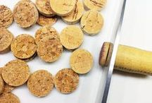 wine cork crafts / wine cork DIY