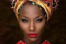 African Inspired Fashion / Fashion with an African fusion.