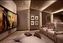 Let Me Entertain You... / Home Theatres, Games Rooms and Bars for entertaining at home.