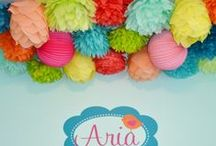 PomPom and Paper Lanterns in baby rooms / by GaGaGallery