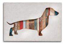 Artsy / All things art:  Gallery walls, framing, arrangement / by Rita