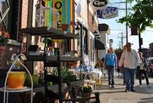 Shopping in Northern Kentucky / Whether you are looking for a mainstream brand, antiques or a unique item in a small boutique - you will find treasure in NKY.  Happy Hunting!