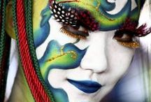 Face Painting | Adult Art / This is a collection of some fantastic face painting