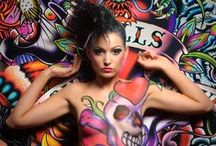 Body Painting | Body Art / A collection of some of the best Body Art that inspires BodyFX NZ