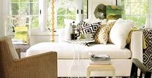 Living Room Spaces / Living Room Inspiration featuring the finest upholstery and accent pieces