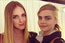 Chiara Ferragni / Cara Delevingne   <3 / Chiara Ferragni is one of the top fashion bloggers in the world.  Cara Delevingne is is a British fashion model who has been in the fashion world for almost three years now.    If you would like to be invited, leave a comment on my pins. Thank you and Happy Pinning!