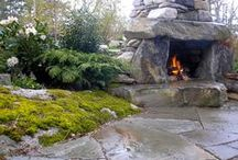 Fire Features For Outdoors / by Kathy Herrington