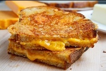 Grilled Cheese Sandwiches / The simple grilled cheese sandwich....could there be a more heavenly sandwich! / by Kathy Herrington