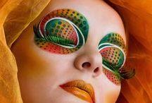 Eye makeup | Eye art / Simply an eye for art www.bodyfx.co.nz